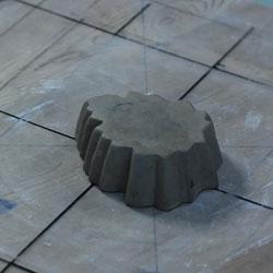 菊形小皿型制作