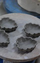 菊葉形小皿ー型起こし